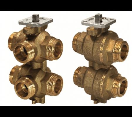 vwg41.20-0.4-1.3 6-ходовой регулирующий шаровой клапан siemens BPZ:S55230-V146