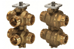 VWG41.20-1.0-2.5 6-ходовой регулирующий шаровой клапан SIEMENS