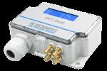 DPT-Dual-MOD-2500-D арт. 120.007.006 Преобразователь дифференциального давления с диапазоном 0…2500Па, с дисплеем, Modbus, два сенсора для измерения двух различных диапазонов давлений одновременно